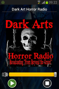 Dark Arts Horror Radio Free Android App from Google Play